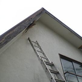 破風板板金工事