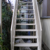 外部階段塗装工事