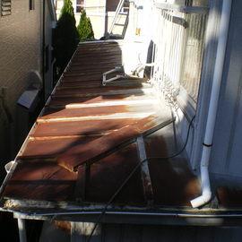 屋根葺き替え工事〈三晃式〉