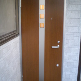 外部ドア交換工事